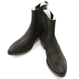EXOTIC SIDE GOA BOOTS 10BLACK